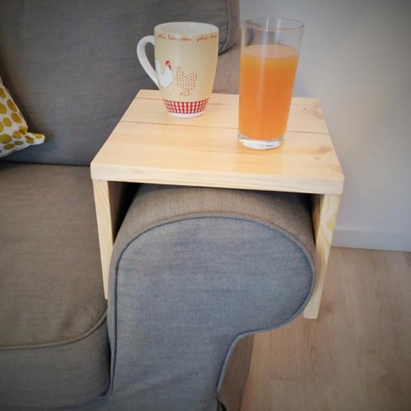 tablette pour accoudoir. Black Bedroom Furniture Sets. Home Design Ideas