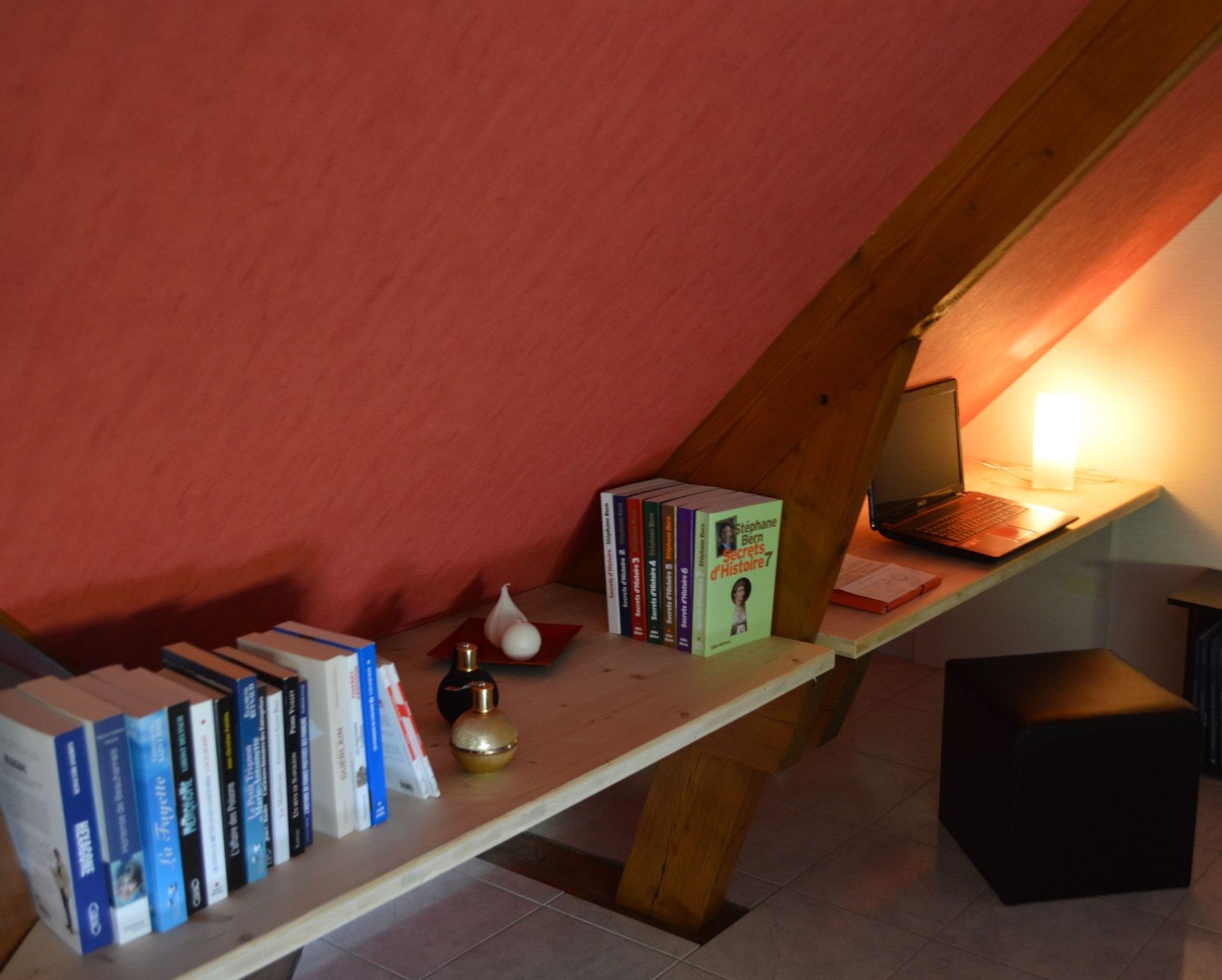 Etagere sous-pente page magasin