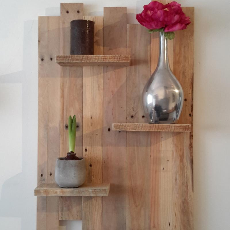 Etagere murale page magasin