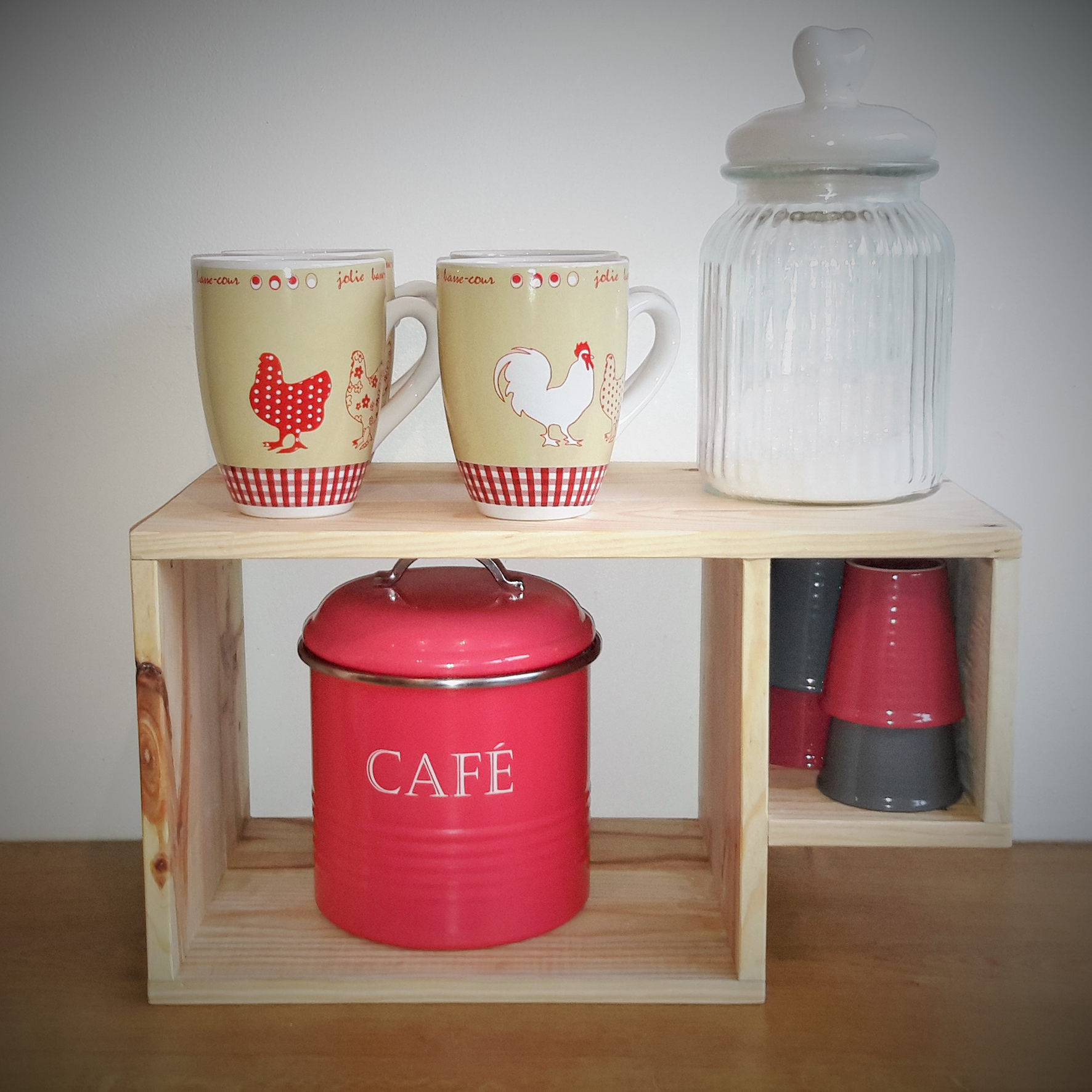 Etagere tasse page magasin