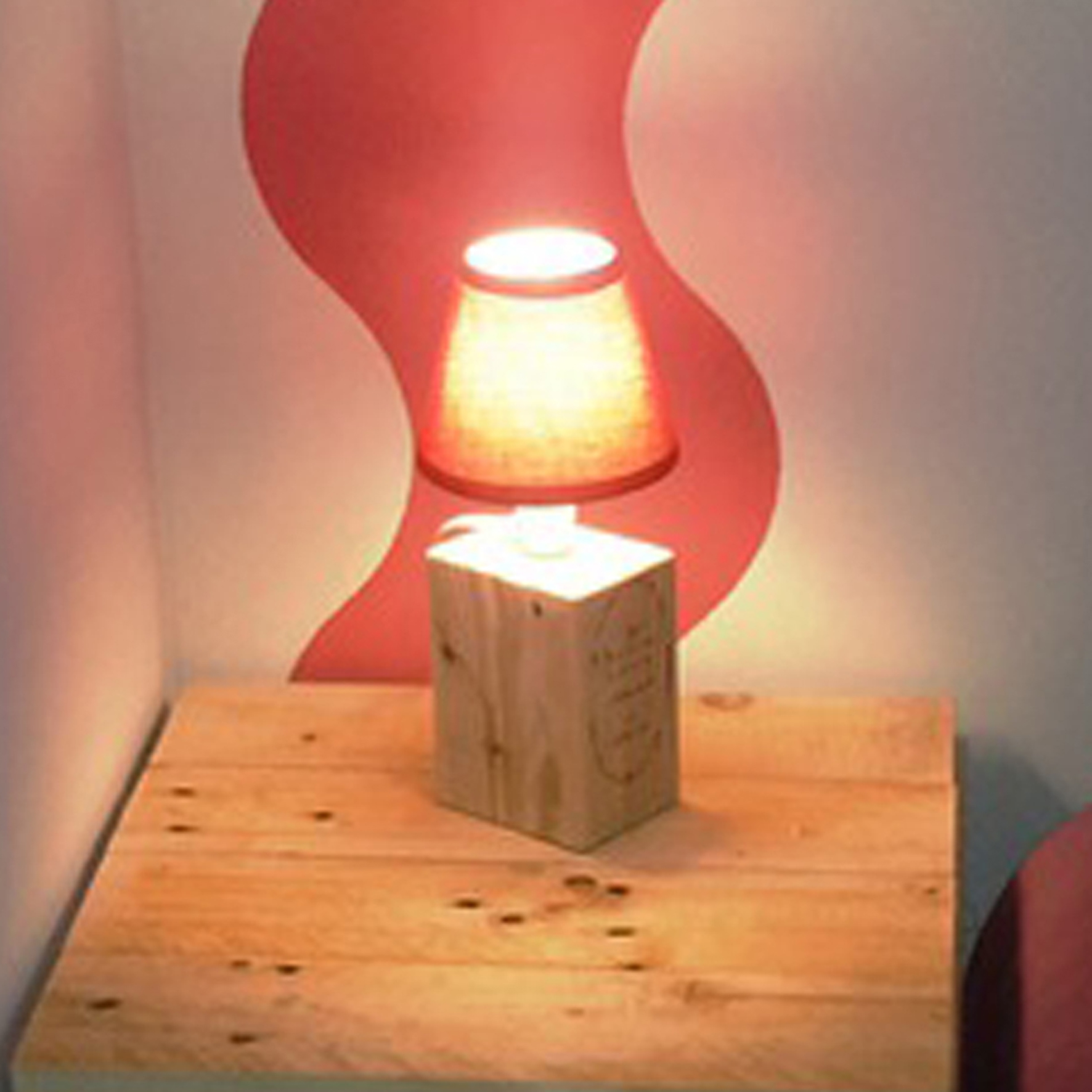 Lampe page magasin